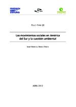 Los movimientos sociales en América del Sur y la cuestión ambiental
