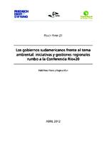 Los gobiernos sudamericanos frente al tema ambiental