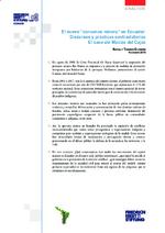 """El nuevo """"consenso minero"""" en Ecuador"""